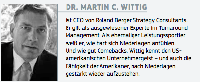Dr. Martin C. Wittig Roland Berger Strategy Consultants