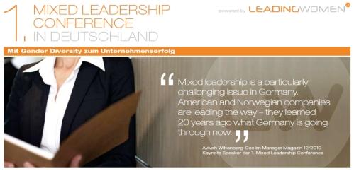 Mixed Leadership Konferenz