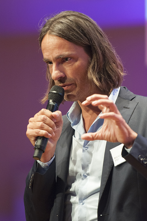 Exzellenz: Richard David Precht auf dem Kommunikationskongress 2013
